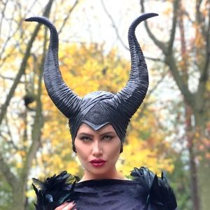 Maleficent headpiece